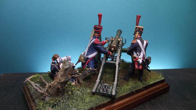 Artillerie à pied de la garde